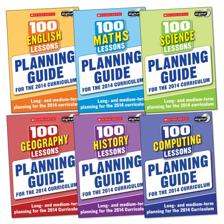 100 Lessons for the 2014 Curriculum: Planning Guide Set x 6