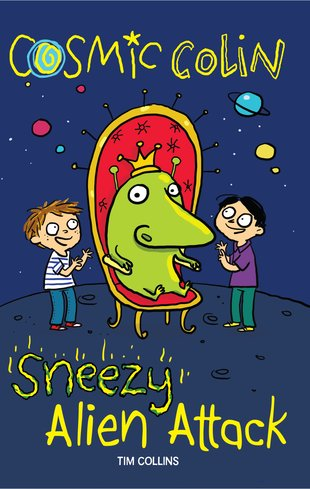 Cosmic Colin: Sneezy Alien Attack