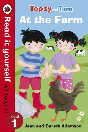 Ladybird Read It Yourself: Topsy and Tim - At the Farm