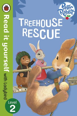 Ladybird Read It Yourself: Peter Rabbit - Treehouse Rescue