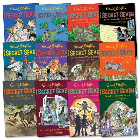 Secret Seven and Famous Five Pack