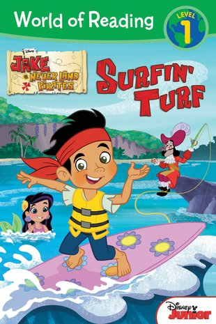 World of Reading: Jake and the Never Land Pirates - Surfin' Turf