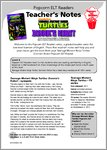 Teenage Mutant Ninja Turtles: Donnie's Robot - Resource Sheet & Answers (18 pages)