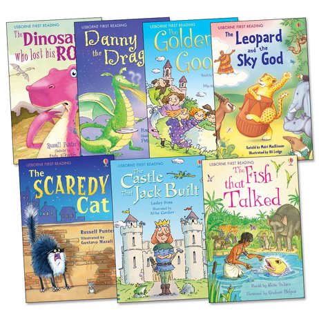 Usborne First Reading Pack: Level 3 x 7