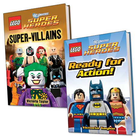 LEGO DC Universe Readers Pair