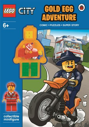 LEGO® CITY™: Golden Egg Adventure Activity Book