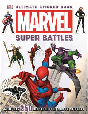 Marvel Super Battles: Ultimate Sticker Book