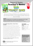 SpongeBob - Talent Show - Resource Sheets and Answers (18 pages)
