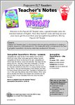 SpongeBob Wormy - Resource Sheets and Answers (18 pages)
