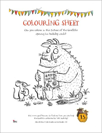 Gruffalo Activity Pack