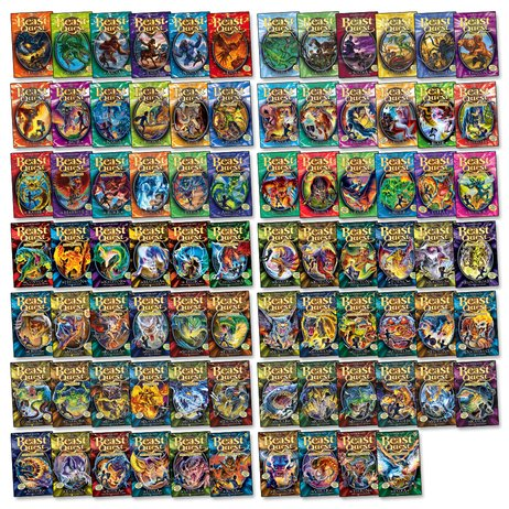 Beast Quest Mega Pack: Series 1-14