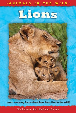 Animals in the Wild: Lion - Scholastic Shop