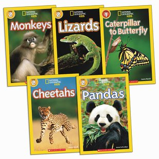 National Geographic Readers Pack: Animals