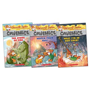 Geronimo Stilton: Cavemice Trio