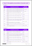 Phonics Notes Page 13 (1 page)