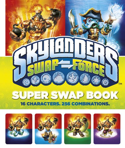 Skylanders: SWAP Force Super Swap Book