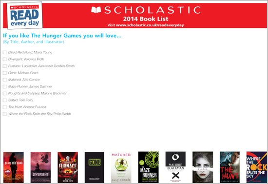 If You Like The Hunger Games You'll Love..