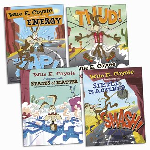 Wile E. Coyote: Physical Science Genius Pack x 4