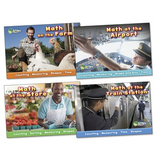 Math on the Job Pack x 4