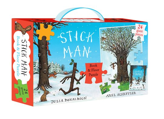 Stick Man Book & Floor Puzzle Gift Set