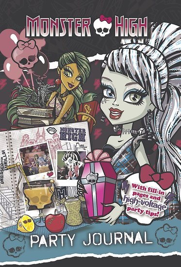 Monster High Party Journal
