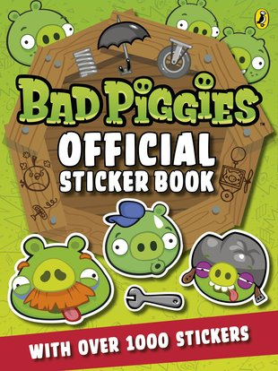 Bad Piggies Official Sticker Book