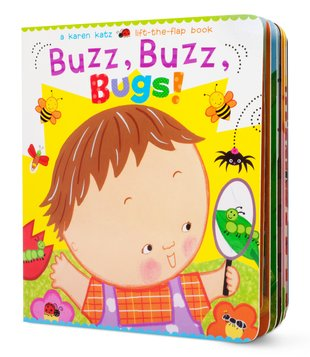 Buzz, Buzz, Bugs! (Flap Book)