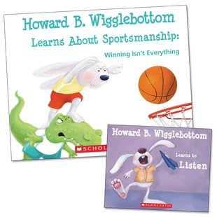 Howard B. Wigglebottom Learns About Sportsmanship with FREE Mini Book