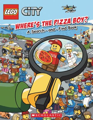 LEGO® CITY™: Where's the Pizza Boy? A Search-and-Find Book