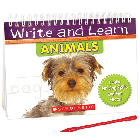 Write and Learn: Animals