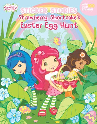 Sticker Stories: Strawberry Shortcake's Easter Egg Hunt