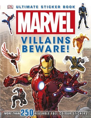 Marvel: Villains Beware! Ultimate Sticker Book