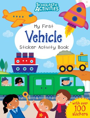 My First Vehicle Sticker Activity Book