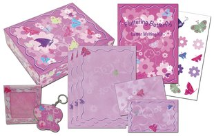 Fluttering Butterfly Stationery Box