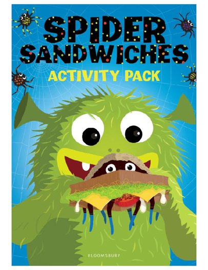 Spider Sandwiches Activity Pack