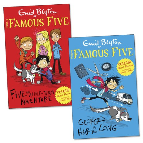 Famous Five Colour Reads Pair