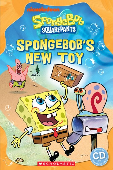 Spongebob Squarepants: SpongeBob's New Toy (Book and CD)