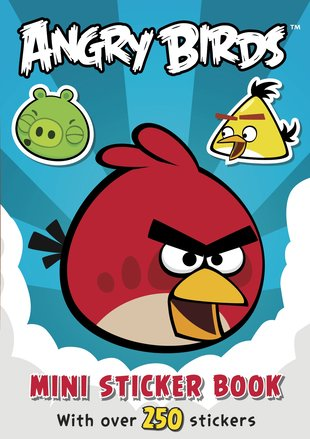 Angry Birds: Mini Sticker Book