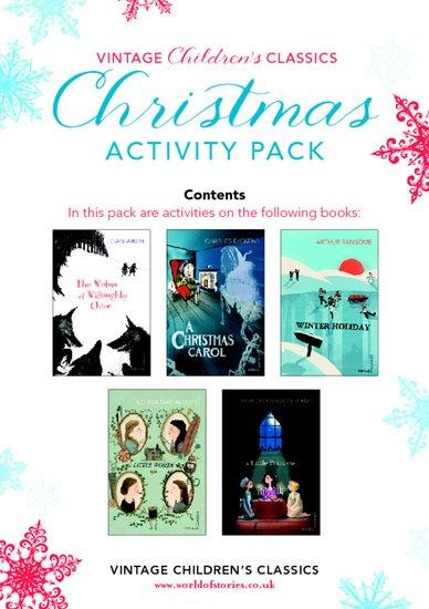 Vintage Classics Christmas Activity Pack