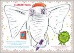 Make a Slightly Annoying Elephant mask