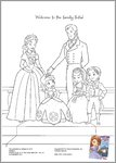 Sofia the First colouring (3 pages)