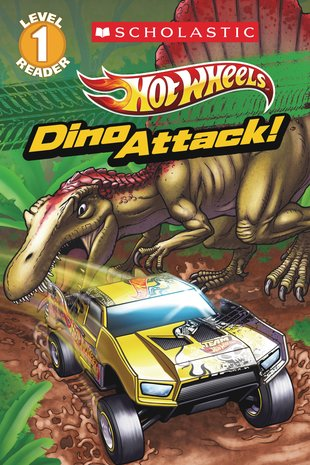 Scholastic Reader: Hot Wheels - Dino Attack