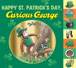 Happy St Patrick's Day, Curious George