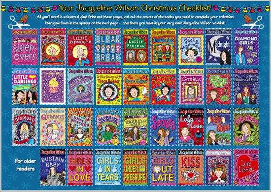 Jacqueline Wilson Christmas Activity Pack