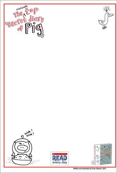 Unbelievable Top Secret Diary of Pig