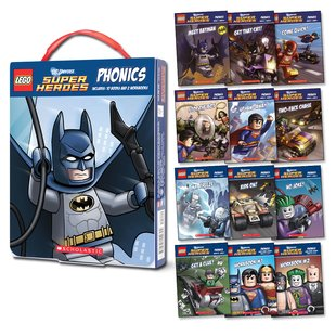 LEGO DC Universe: Super Heroes Phonics Box Set