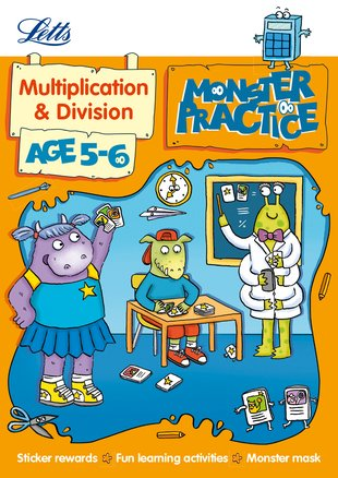 Monster Practice: Multiplication and Division (Ages 5-6)