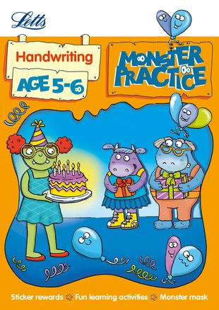 Monster Practice: Handwriting (Ages 5-6)