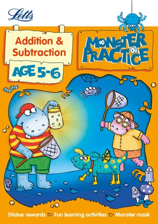 Monster Practice: Addition and Subtraction (Ages 5-6)