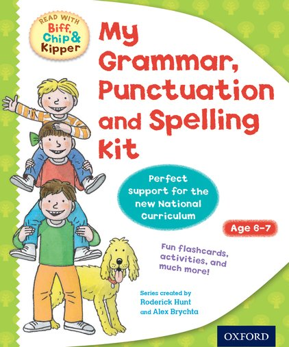 Read with Biff, Chip and Kipper: My Grammar, Punctuation and Spelling Kit